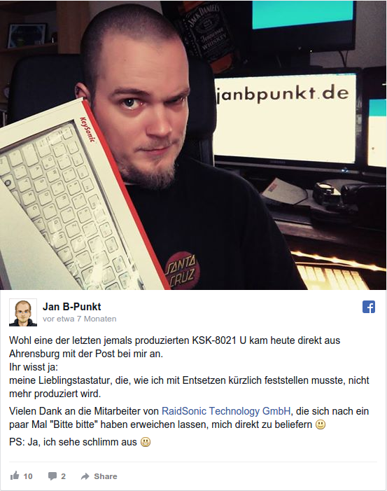FB Post Keysonic