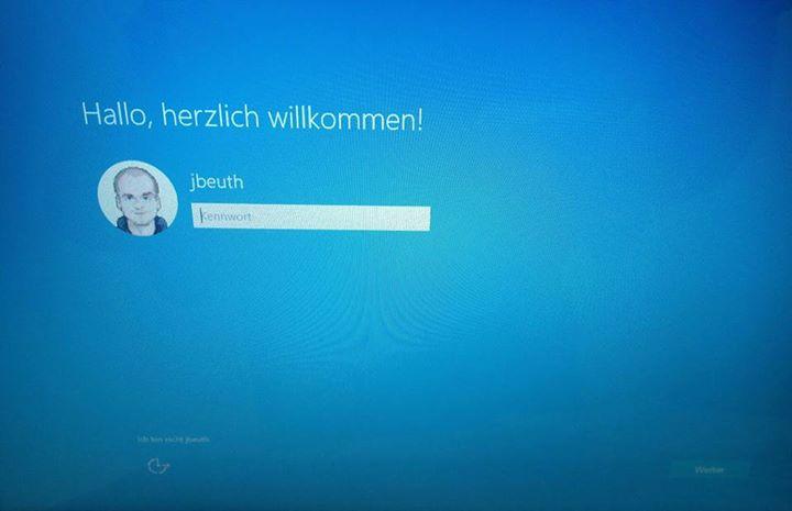 Mein Tag in Bildern: Windows 10 Upgrade