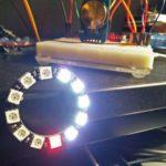 Arduino kleine LED-Uhrk Ziffernblatt