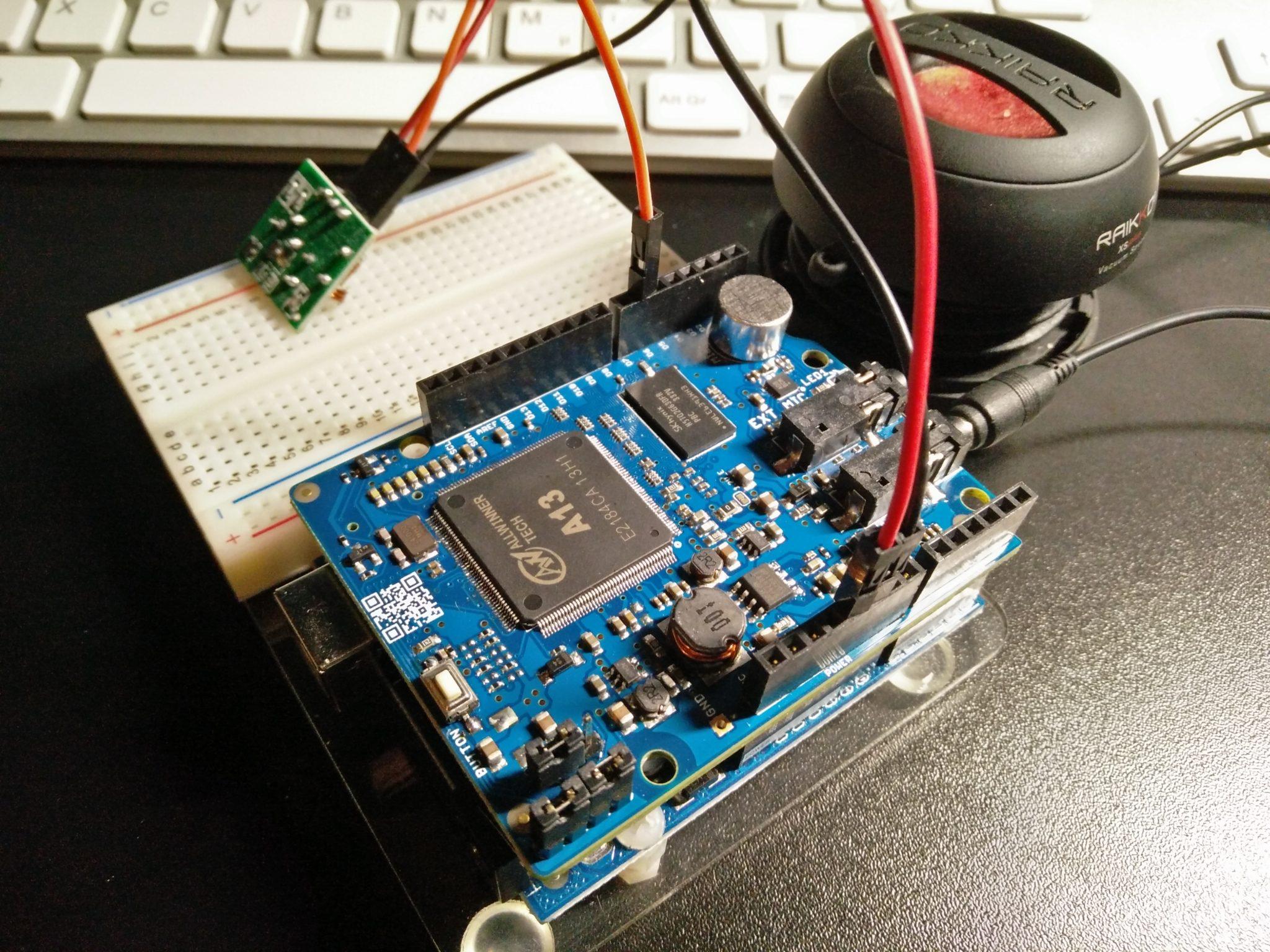 Spracherkennung mit dem Arduino