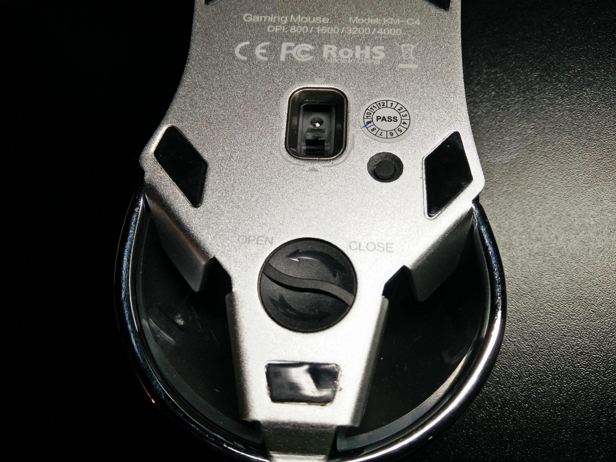 AUKEY KM-C4 Gewichtfach