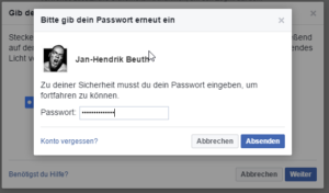 Key bei FB hinzufügen