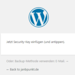 WordPress entsperren