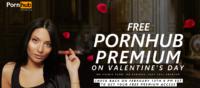 Erneut kostenfreier Zugang zu Pornhub Premium am Valentinstag 2017