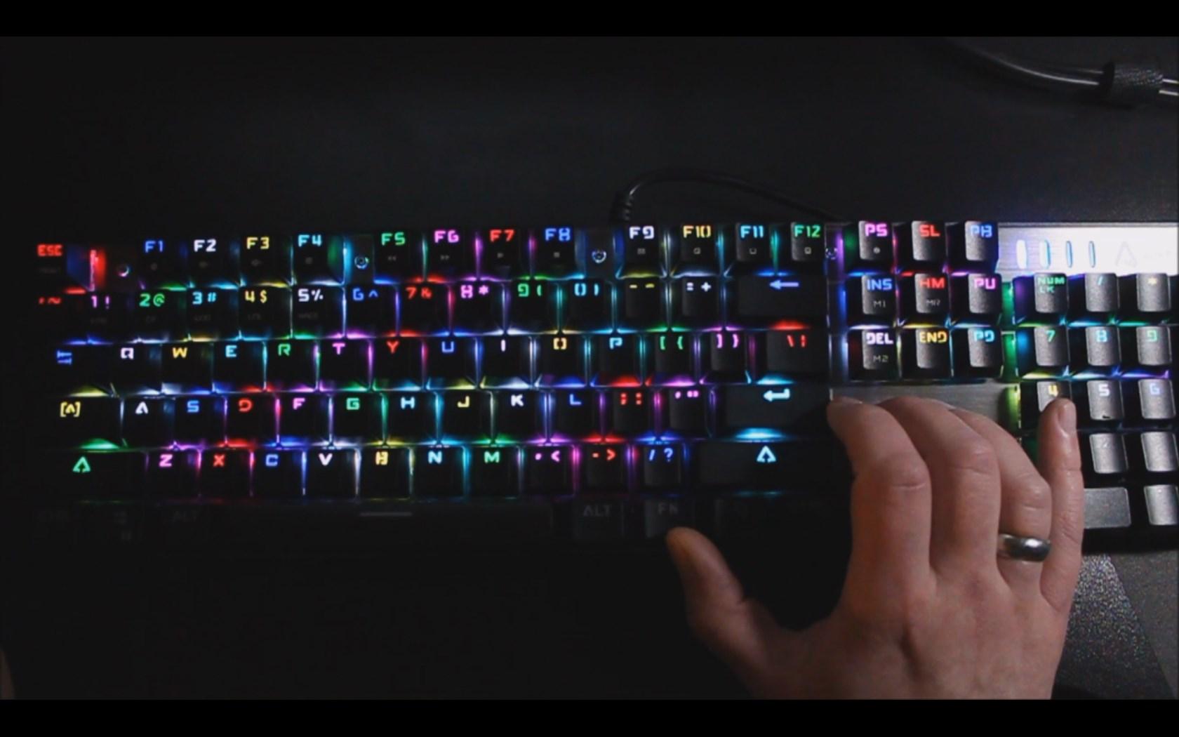 Getestet: Mechanische Gaming-Tastatur von AUKEY KM-G3