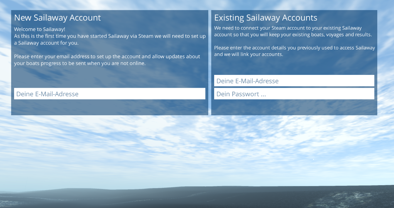 Sailaway migriert komplett zu Steam