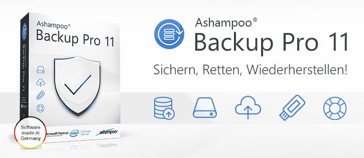 Ashampoo Backup Pro 11 angeschaut