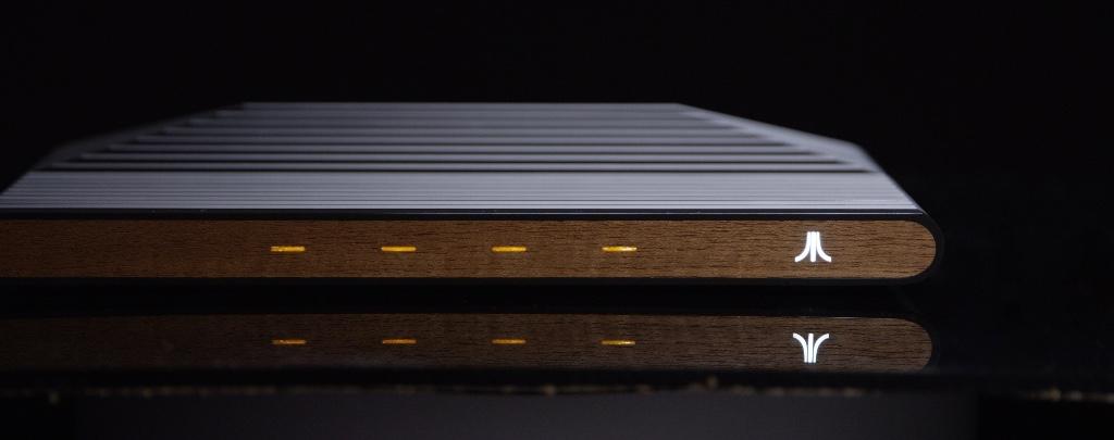 Ataribox Detail Wood Edition