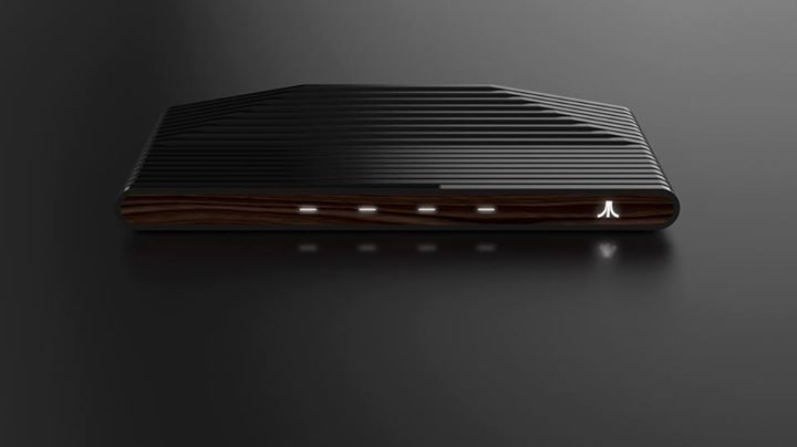 Ataribox Vollansicht Wood Edition