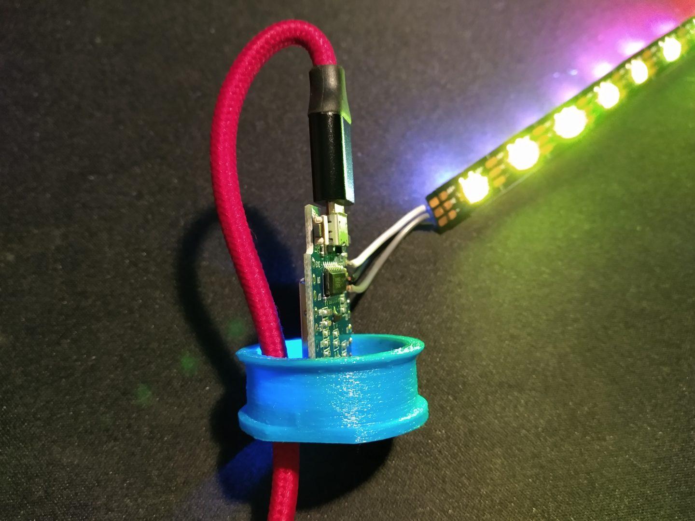 Fassung für Grönö mit ESP und LEDs