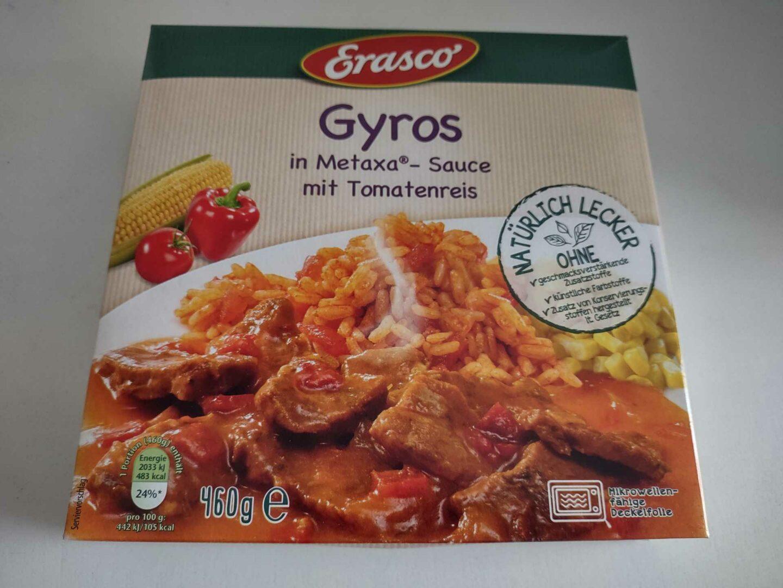 Erasco Gyros Mit Metaxa®-Sauce Vorderseite