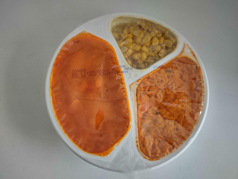 Erasco Gyros Mit Metaxa®-Sauce Überblick Tray
